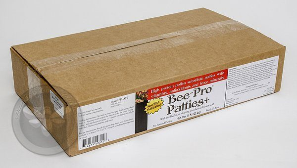 Bee-Pro Patties 40 lb case